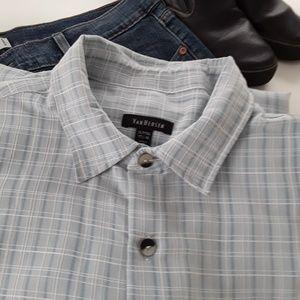 Van Heusen Mens Shirt Short Sleeve XLT